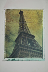 Eiffel Tower - Image Transfer (B4 - andrew shaef) Tags: sas analogphotography bwfilm singaporeamericanschool