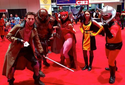 Gambit, Juggernaut, Scarlet Witch, Kitty Pryde, Ant Man