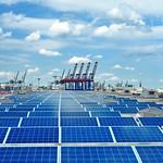 Photovoltaikanlage Hafen Hamburg