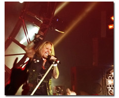My best grab of Vince (KarinaInTO) Tags: concert heavymetal motleycrue