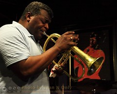 John Douglas (and Ella) (Juan N Only) Tags: music michigan detroit livemusic may trumpet jazz nightclub bebop berts flugelhorn trumpeter johndouglas hardbop 2013 criticismwelcome bertsmarketplace flugelhornist juannonly