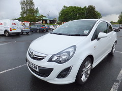 Rental Car Review - Vauxhall Corsa SRi (stevenbrandist) Tags: white car review rental sri enterprise carpark vauxhall corsa 3door burtonwoodservices dv62zxm