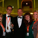 Ken Hay and staff at the opening night party of the 67th Edinburgh International Film Festival