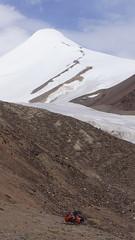Abstieg ins Gletschertal