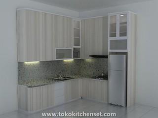 kitchen set granit taco