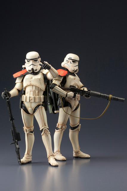 帝國勢力持續延伸!壽屋 ARTFX+『沙漠暴風兵』建構組
