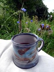 Afternoon tea in the garden (LaWendeltreppe) Tags: summer garden