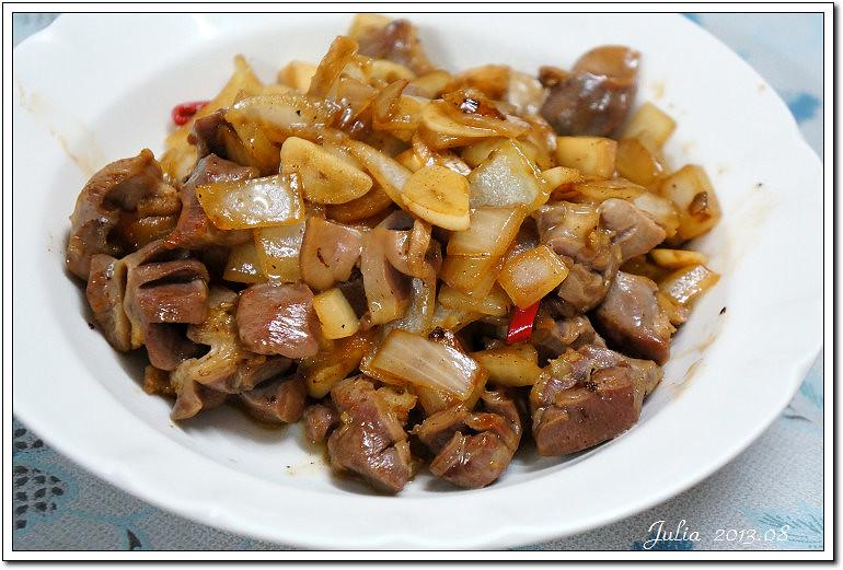 蒜炒雞胗 (6)