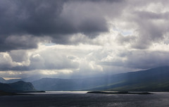 Loch Erribol (Joos foto's) Tags: scotland highlands day cloudy wolken bergen locheribol