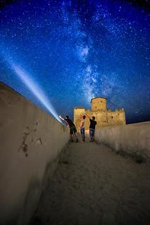 Milky Way Over Torre Astura - Via Lattea Su Torre Astura