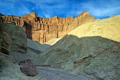 Golden Cathedral (Ken'sKam) Tags: california desert deathvalley geology goldencanyon goldencathedral afsdxzoomnikkor1224mmf4gifed