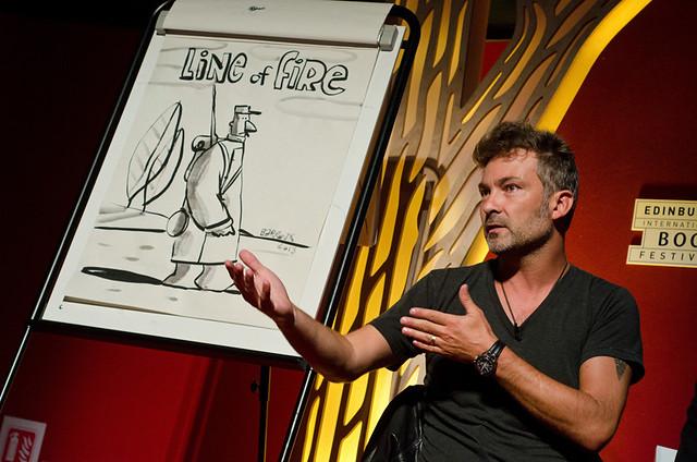Book Festival Illustrator in Residence Barroux