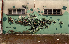 Spazm (Chrixcel) Tags: graffiti 3d tag hangar graff fresque friche spazm fricheindustrielle entrepotabansonné