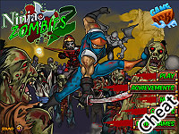 忍者大戰殭屍2:修改版(Ninja vs Zombies 2 Cheat)