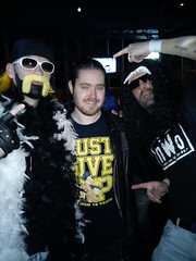"""Adam Stinson on Wrestlemania 29 weekend at Walkabout Pub in Birmingham, UK, telling someone to """"Just Give Up"""""""
