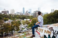gabriel flores + austin (emmzies) Tags: city portrait flores castle gabriel austin project hope graffiti gallery texas outdoor hill foundation