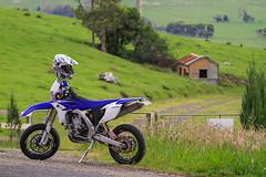 Yamaha WR450F Super Motard (Brendan Dutton) Tags: bike motorbike trail motorcycle yamaha motard supermotard wr450f