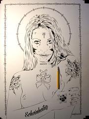 NEW Stencils 1/6 layer (mittenimwald) Tags: tattoo studio nude stencil layer sailor cutter olva mittenimwald