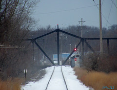 STOP (PPWIII) Tags: railroad bridge michigan peremarquette trains swing shore grandhaven csx