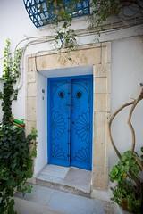 Doors of Tunis (11) (Michael Foley Photography) Tags: december tunisia tunis sidibousaid 2013