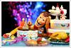 Happy birthday (gqhaha) Tags: birthday christmas cake toy happy bokeh woody pixar 7d sheriff rement kaiyodo 海洋堂 storys tse90 gqhaha