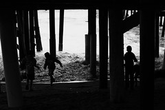 Untitled (ajkpix) Tags: california street blackandwhite bw pier sanclemente blackwhitephotos scattidistrada thephotographyblog