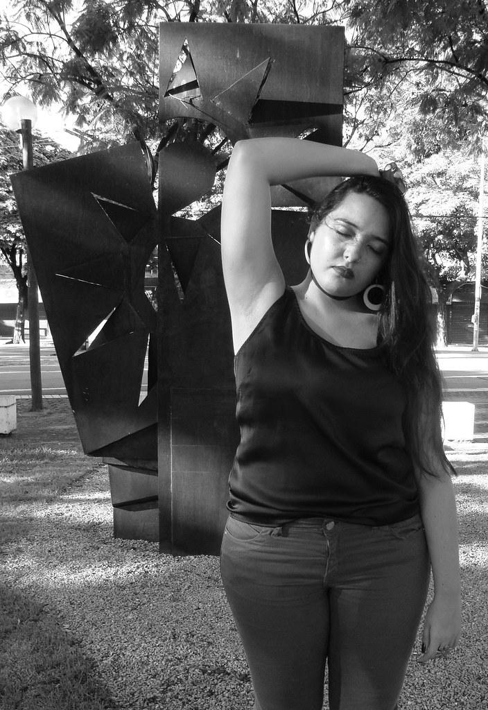 (Barbara Reccanello) Tags  bw yoga pose naked punk moda pb revolution  editorial feminism ad5ca5d6e8be