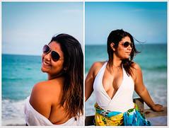 Marthinha (Andreza Menezes) Tags: blue friends sea brazil sun white sol praia beach colors beautiful coral branco azul brasil tattoo cores mar bikini pineapple amigas swimsuit lindas pernambuco abacaxi portodegalinhas fotoclube biquni mai