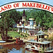 """Land of Makebelieve,"" postcard. Theme park designer: Arto Monaco. The Essex County Historical Society/Adirondack History Center Museum is raising funds to exhibit a collection of 600 Land of Makebelieve/Arto Monaco items. How to help via Adirondack Gives."