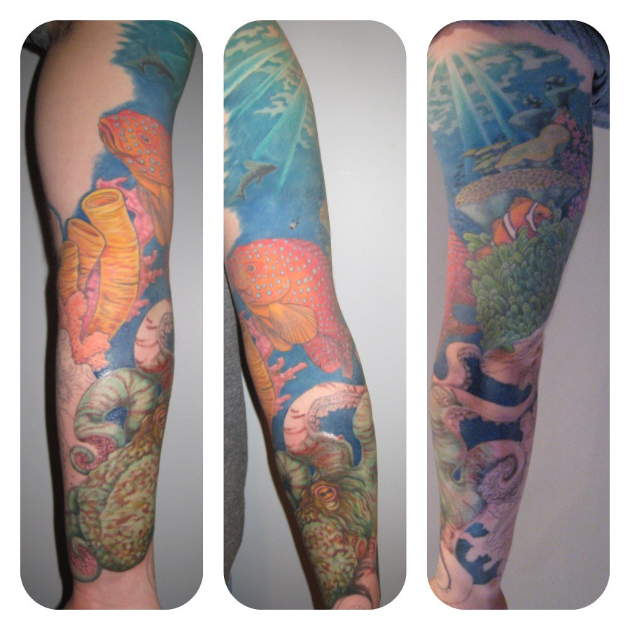 The world 39 s best photos of carlahopkins and tattoo for Tropical themed tattoos