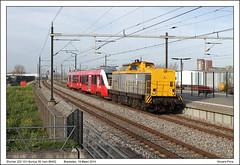 Shunter 203 101+Syntus 39 - Breukelen - 88452 (19-03-2014) (Vincent-Prins) Tags: v100 lint 39 breukelen shunter syntus 203101 88452
