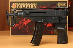 scorpion maruzen airsoft gbb マルゼン エアガン ガスガン ガスブローバック vz61 スコーピオン