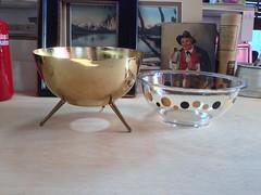 Sputnic Inspired Pyrex Bowl & Holder (blackthorne56) Tags: inspired bowl atomic holder pyrex sputnic