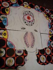 byITI (andres musta) Tags: street toronto art stickerart creatures crusty 2014 byiti