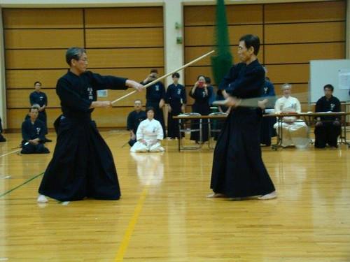 My ZNKR Jodo Teachers, Kurogo Sensei & Honda Sensei