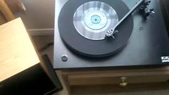 Rega Planar 3 John Dankworth Orchestra 45 rpm . (fpo22p) Tags: old b music 3 vintage john video african side jazz 15 columbia turntable 45 single ortofon hi fi trio sir ff xr waltz 1961 rpm kef rega planar celestion moanin rb300 dankworth ka601