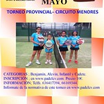 Provincial de menores Tutempo Dos A Dos (Quart de Poblet) May2014
