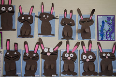 Bunnies (Lester Public Library) Tags: art library libraries librarian artshow kidsart publiclibrary childrensart lpl publiclibraries libslibs librariesandlibrarians lesterpubliclibrary tworiversschooldistrictartshow wisconsinlibraries lesterpubliclibrarytworiverswisconsin
