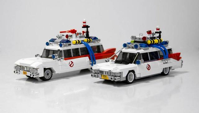 【新增實品比較圖】這不買怎麼行!~ LEGO 21108 魔鬼剋星 30年紀念版