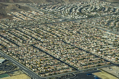 The outskirts of Las Vegas