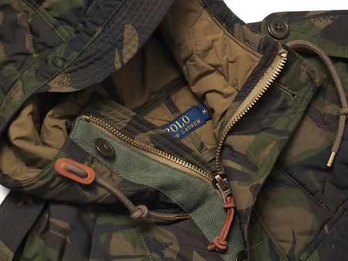 ralph lauren camouflage jacke