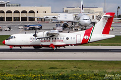 Italy Coast Guard --- ATR-42-500 --- MM62270 (Drinu C) Tags: plane aircraft aviation military sony panning dsc mla atr atr42 atr42500 lmml italycoastguard mm62270 hx100v adrianciliaphotography