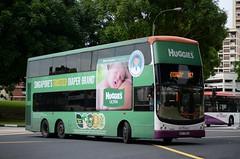 SBS Transit Volvo B9TL CDGE (nighteye) Tags: bus volvo singapore ultra huggies sbstransit b9tl cdge service147 comfortdelgroengineering euroiii  sbs7336l