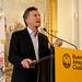 Conferencia de prensa de Mauricio Macri.-