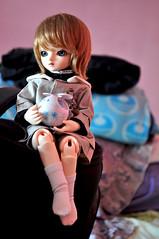 Ilan With Snow Haro (yuzuhana) Tags: december little audrey monica honey harmony bjd abjd yosd