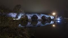 Stirling Brig (David C Laurie) Tags: bridge water night stirling stonework illuminated stirlingbridge