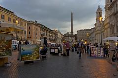 DSC04715 (Dirk Buse) Tags: italien roma abend sony sigma ita piazza navona lazio nex7 dn1928