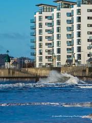 Sunrise & high tide in Swansea 21st Feb 2015 (22) (Gareth Lovering Photography 5,000,061) Tags: seascape swansea wales sunrise landscape high tide 21st olympus mumbles feb omd lovering em1 2015