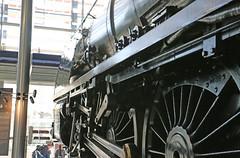 46235 City of Birmingham (Andrew Edkins) Tags: plinth westmidlands steamtrain duchess lms curzonstreet coronationclass stanier milleniumpoint cityofbirmingham 46235 thinktankmuseum