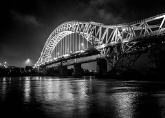The Bridge B&W (cmcommins) Tags: blackwhite runcornbridge